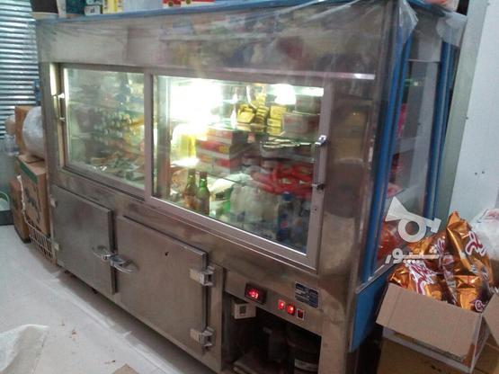 یخچال ویترینی مغازه برای مرغ فروشی در گروه خرید و فروش صنعتی، اداری و تجاری در آذربایجان غربی در شیپور-عکس1