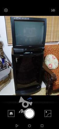 تلویزیون پارس با میز زیر تلویزیون  در گروه خرید و فروش لوازم الکترونیکی در مازندران در شیپور-عکس1