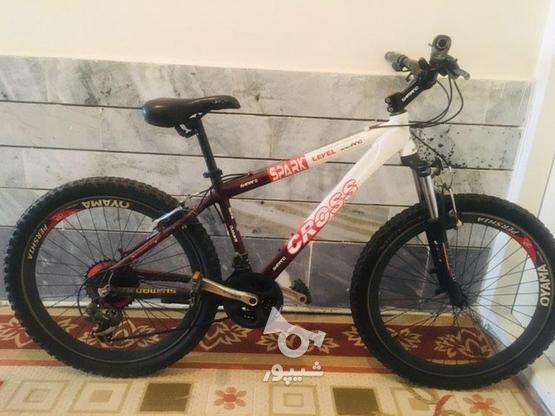 دوچرخه کراس  در گروه خرید و فروش ورزش فرهنگ فراغت در البرز در شیپور-عکس1