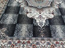 فرش عقیق دربار کاشان 700 شانه اصل لوتوس و چشمه در شیپور