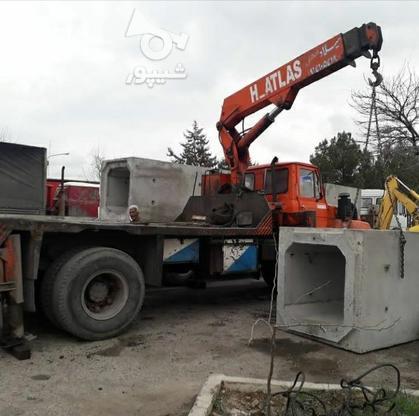جرثقیل کفی 5تنی اطلس آلمانی  در گروه خرید و فروش وسایل نقلیه در آذربایجان شرقی در شیپور-عکس6