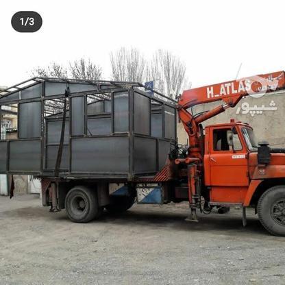 جرثقیل کفی 5تنی اطلس آلمانی  در گروه خرید و فروش وسایل نقلیه در آذربایجان شرقی در شیپور-عکس4