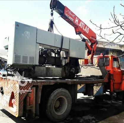 جرثقیل کفی 5تنی اطلس آلمانی  در گروه خرید و فروش وسایل نقلیه در آذربایجان شرقی در شیپور-عکس1