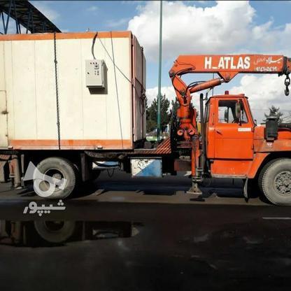 جرثقیل کفی 5تنی اطلس آلمانی  در گروه خرید و فروش وسایل نقلیه در آذربایجان شرقی در شیپور-عکس5