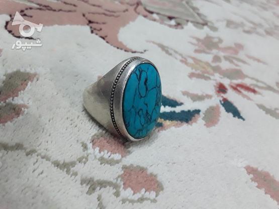 انگشتر فیروزه در گروه خرید و فروش لوازم شخصی در مازندران در شیپور-عکس2