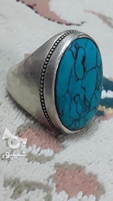 انگشتر فیروزه در گروه خرید و فروش لوازم شخصی در مازندران در شیپور-عکس1