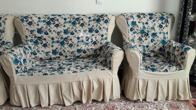 مبل راحتی کار کرده ولی کم در گروه خرید و فروش لوازم خانگی در آذربایجان شرقی در شیپور-عکس4