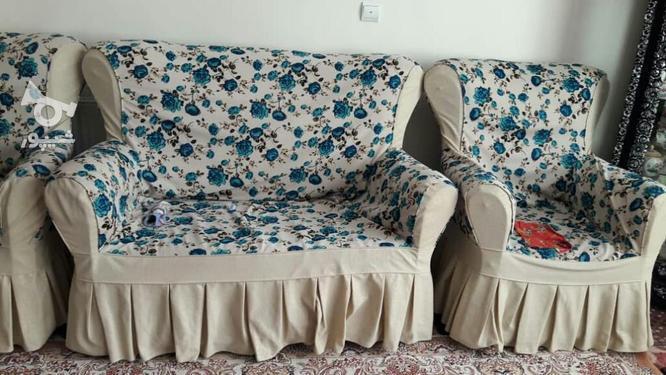 مبل راحتی کار کرده ولی کم در گروه خرید و فروش لوازم خانگی در آذربایجان شرقی در شیپور-عکس3