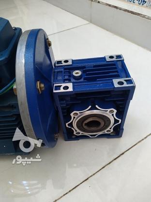الکتروموتور (دینام) مارک موتوژن همراه با گیربکس در گروه خرید و فروش صنعتی، اداری و تجاری در خوزستان در شیپور-عکس5