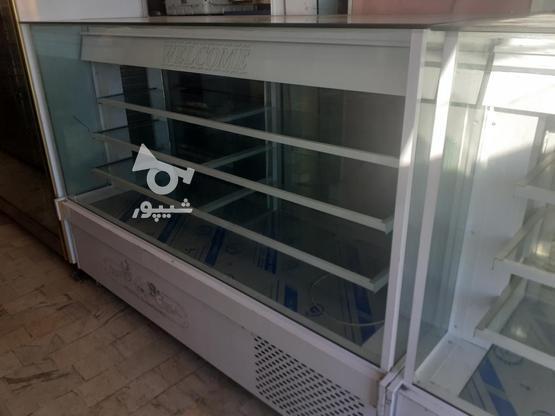 ویترین و یخچال قنادی به همراه یخچال دسر در گروه خرید و فروش صنعتی، اداری و تجاری در قزوین در شیپور-عکس2