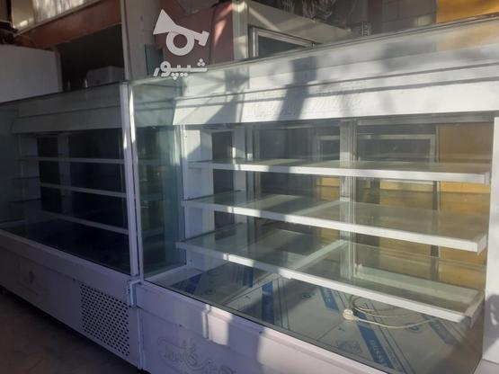 ویترین و یخچال قنادی به همراه یخچال دسر در گروه خرید و فروش صنعتی، اداری و تجاری در قزوین در شیپور-عکس1