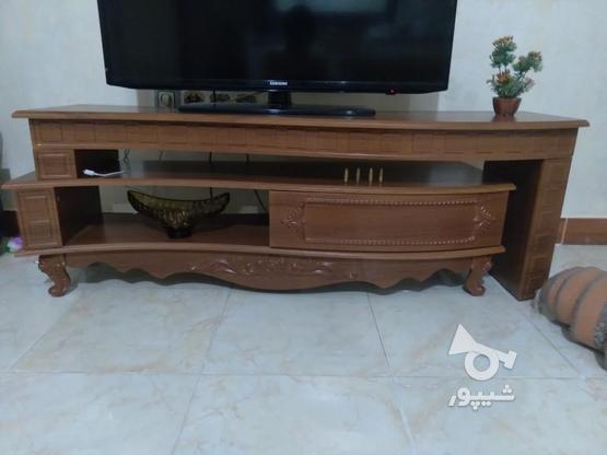 یک عدد میز تلویزیون دو تیکه در گروه خرید و فروش لوازم خانگی در قزوین در شیپور-عکس1