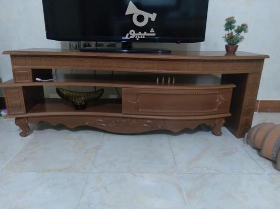یک عدد میز تلویزیون دو تیکه در گروه خرید و فروش لوازم خانگی در قزوین در شیپور-عکس2