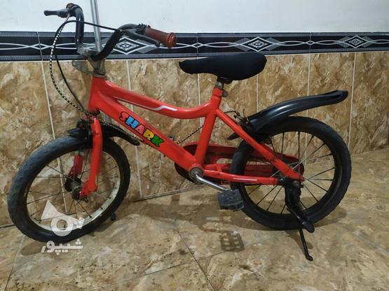 دوچرخه سایز 16 تمیز در گروه خرید و فروش ورزش فرهنگ فراغت در آذربایجان غربی در شیپور-عکس5