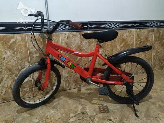 دوچرخه سایز 16 تمیز در گروه خرید و فروش ورزش فرهنگ فراغت در آذربایجان غربی در شیپور-عکس2