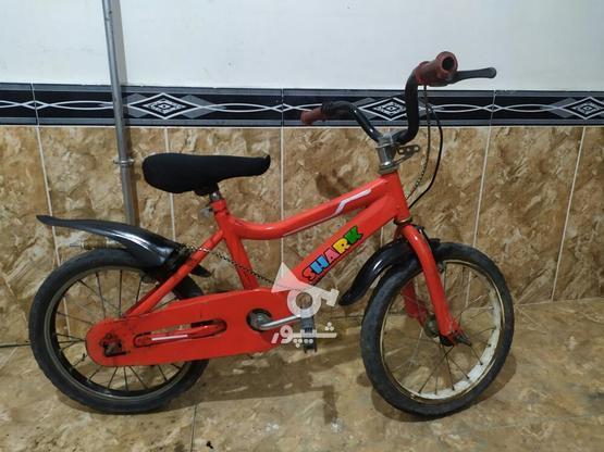 دوچرخه سایز 16 تمیز در گروه خرید و فروش ورزش فرهنگ فراغت در آذربایجان غربی در شیپور-عکس3