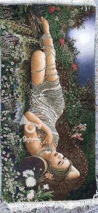 تابلو فرش دختر مهتاب در گروه خرید و فروش لوازم خانگی در تهران در شیپور-عکس1