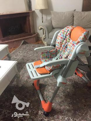 صندلی بچه صندلی غذا چیکو اصل در گروه خرید و فروش لوازم شخصی در تهران در شیپور-عکس5