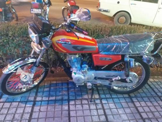 موتورسیکلت کاملا سالم کاربرات دستی  در گروه خرید و فروش وسایل نقلیه در اصفهان در شیپور-عکس1