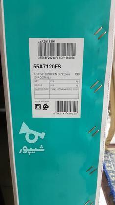 تلویزیون 55اینچ هایسنس 7120 در گروه خرید و فروش لوازم الکترونیکی در اصفهان در شیپور-عکس1