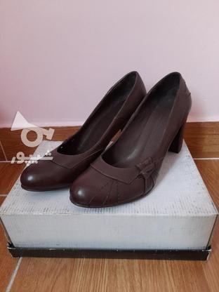 کفش های زنانه پاشنه 5 سانتی چرم طبیعی در گروه خرید و فروش لوازم شخصی در تهران در شیپور-عکس1