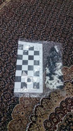 شطرنج پلاستیکی در گروه خرید و فروش ورزش فرهنگ فراغت در کردستان در شیپور-عکس1