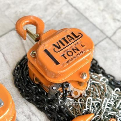 جرثقیل تیفور سقفی زنجیری ویتال ژاپن | VITAL JPAN در گروه خرید و فروش صنعتی، اداری و تجاری در تهران در شیپور-عکس1