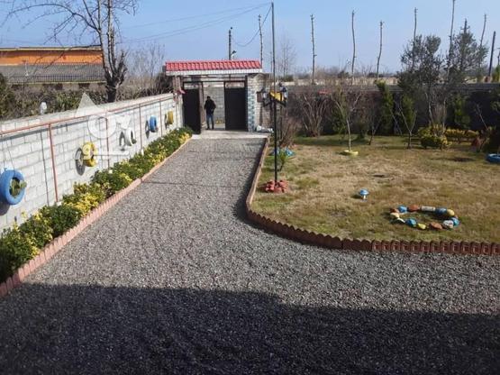 فروش ویلا 120 متر بنا 1350متر زمین در منطقه ساحلی دستک در گروه خرید و فروش املاک در گیلان در شیپور-عکس2