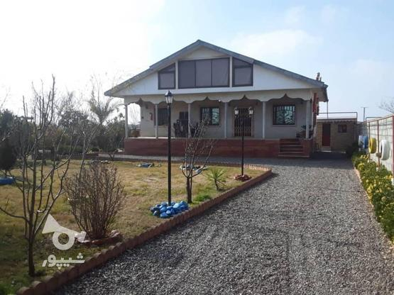 فروش ویلا 120 متر بنا 1350متر زمین در منطقه ساحلی دستک در گروه خرید و فروش املاک در گیلان در شیپور-عکس1