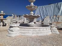 نصب آبنما سنگی با بهترین کیفیت کار و بهترین سنگ کرم عسلی  در شیپور-عکس کوچک