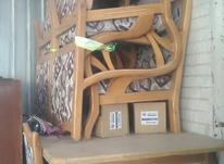 مبل چوبی چوب راش  در شیپور-عکس کوچک