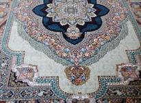 فرش دربار کاشان باغ معلق و هالیدی بدون پرز دهی در شیپور-عکس کوچک